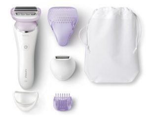 Philips BRL170/00 SatinShave Prestige Wet und Dry Elektrischer Ladyshaver